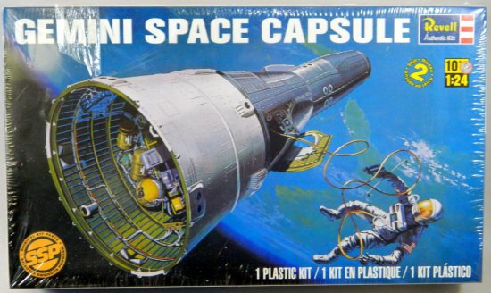 Revell Gemini Space 1/24 Capsule Kit
