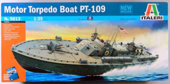 Italeri Motor Torpedo Boat PT-109 Plastic Model