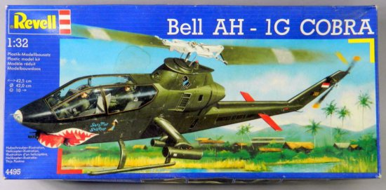 Revell Bell AH - 1 G Cobra Helicopter Kit Model