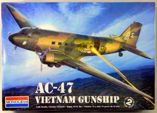 Monogram AC-47 Vietnam Gunship