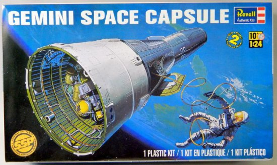 Revell Gemini Space Capsule Plastic Model Kit
