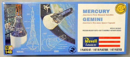 Revell Mercury and Gemini Model Assembly Kit