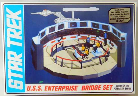 Star Trek U.S.S. Enterprise Bridge Set by AMT