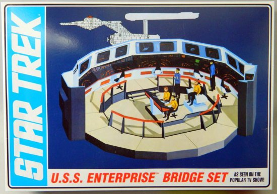 AMT Star Trek U.S.S. Enterprise Command Bridge