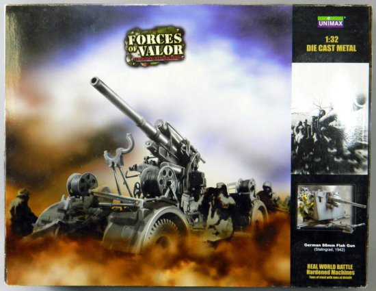 Unimax Forces of Valor Die Cast Krupp 88 Flak Gun