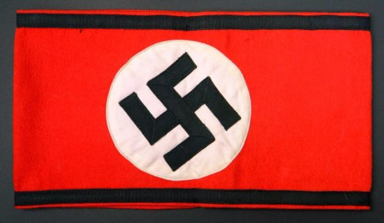 Red and Black Swastika Armband