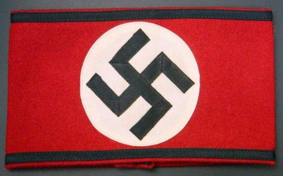 German WWII Swastika Armband