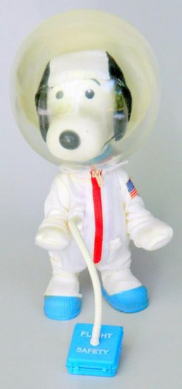United Feature Syndicate Snoopy Astronaut Toy, Hong Kong