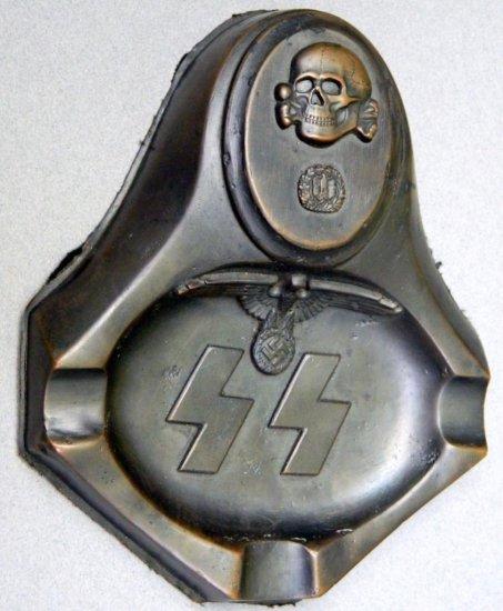 SS Totenkopf Ashtray