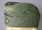 Army Enlisted Mans Overseas Cap, German WWII