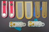 Four (4) Pairs of Military Uniform Shoulder Boards