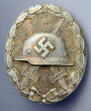 Silver Wound Badge, German WWII