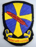 USAAF WWII Army Air Force Fighter Squadron Flight Jacket Patch