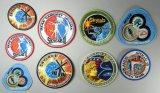 Nine (9) NASA Apollo and Sky Lab Space Uniform Patches
