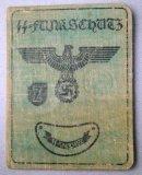 German WWII Funkschutz Ausweis