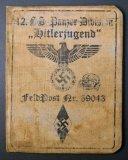 SS Panzer Division Hitlerjugend Identification Booklet