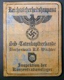 Reichssicherheitshauptamt ID Document Book, Buchenwald
