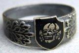 Totenkopf Ring, Signed H. Himmler