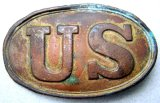 U.S. Civil War Union Belt Buckle