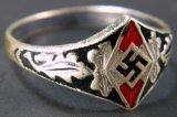 Hitler Youth, WWII Swastika Ring