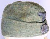 German Waffen SS Overseas Wool Cap