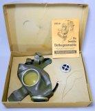 RARE German WWII VolksgasMaske Gas Mask in Original Box