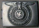 Waffen SS Enlisted Mans Combat Belt Buckle, German WWII