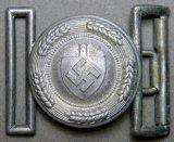 RAD Labor Korps Officers Belt Buckle, German WWII