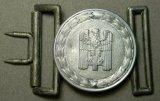 Red Cross Officers Belt Buckle, German WWII