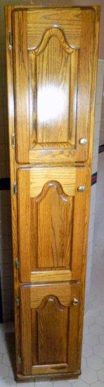 Tall 3-door Storage Cabinet