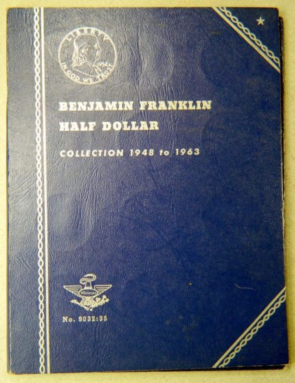 Benjamin Franklin Half Dollar Collection Folder, 1948-1963