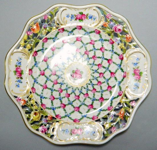 Dresden Decorative Plate