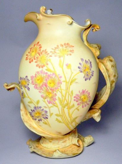 Royal Rudolstadt Decorative Floral Vase