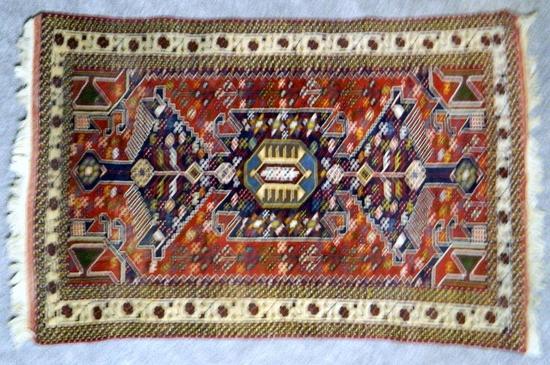 Multicolor Persian Rug, Made in Iran