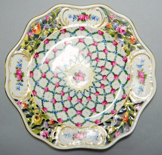 Dresden Decorative Plate