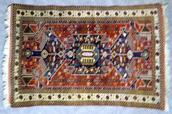 Multicolor Persian Rug, Made in Iran