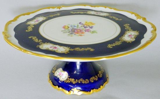 Reichenbach Porcelain Factory Porcelain Cake Stand