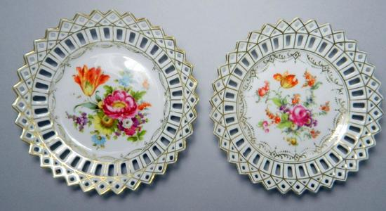 Two Dresden Plates