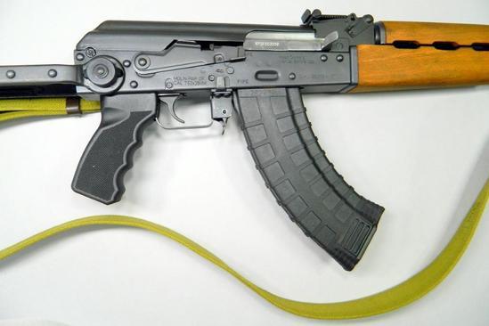 Zastava N-Pap DF AK Underfolder Semi Auto Rifle