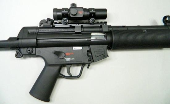 Walther HK MP5 A5 22LR Tactical Rimfire Rifle