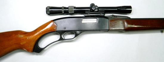 Winchester Model 250 .22LR Lever-action Rifle with Scope