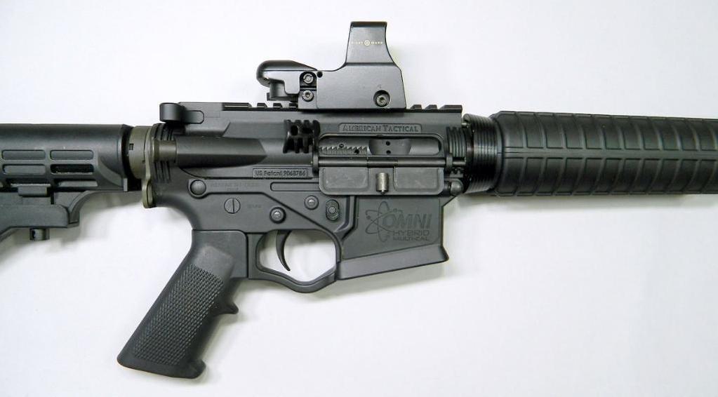 Lot: American Tactical Omni Hybrid AR-14  223 Semi Auto