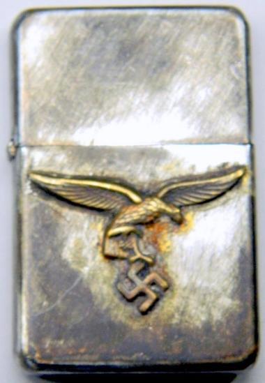 German WWII Luftwaffe Cigarette Lighter Case Only