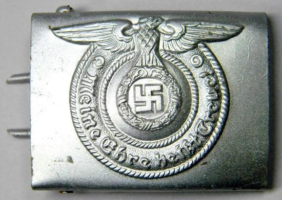 German WW2 Waffen SS Enlisted Mans Belt Buckle