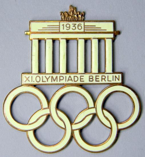 German WWII 1936 Berlin Summer Olympics Table Decoration