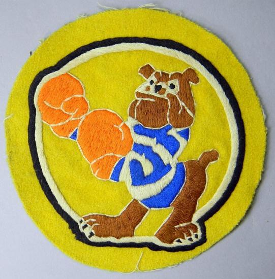 USAAF WWII Army Air Corps Fighter Squadron Patch