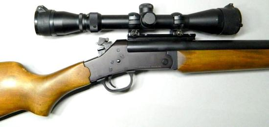 A. Rossi Model R250HB 22-250 Cal Single Shot Rifle