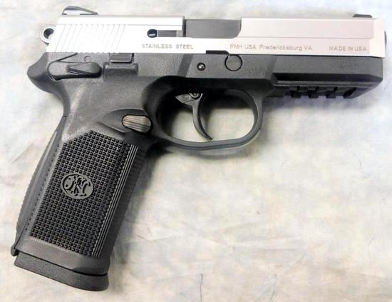 FN FNP .45 ACP Semi-auto Pistol, Stainless