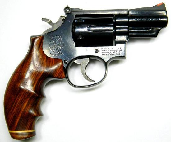 Smith & Wesson Model 19-4 .357 MAG Six-shot Revolver