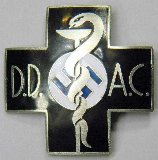 Medical DD AC Doctors Breast Badge, German WWII